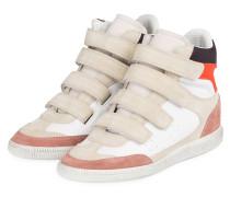Hightop-Sneaker BILSY - WEISS/ BEIGE
