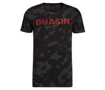 T-Shirt RIGGS - grau/ dunkelgrau