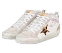 Hightop-Sneaker MID-STAR - HELLGRAU/ WEISS