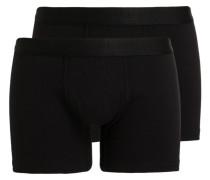 2er-Pack Boxershorts - schwarz