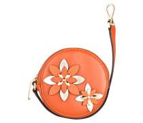 Münzetui FLOWERS - orange