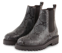 Chelsea-Boots - GRAU/ SCHWARZ