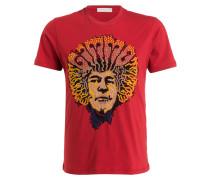 T-Shirt - rot/ gelb/ schwarz