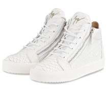 Hightop-Sneaker KRISS - CREME