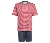 Shorty-Schlafanzug RELAX STREAMLINE