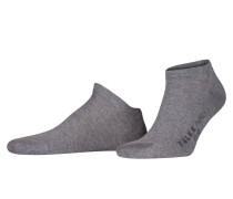Sneaker-Socken FAMILY SHORT - grau meliert