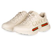 Sneaker RHYTON - CREME/ GRÜN/ ROT