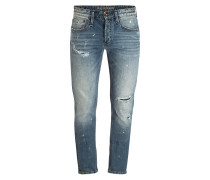 Destroyed-Jeans RAZOR Slim Fit
