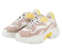 Plateau-Sneaker ADDICT - ALTROSA/ WEISS