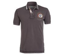 Piqué-Poloshirt GANDY1 - dunkelgrau