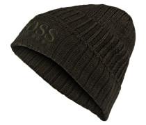 Mütze FENNO - dunkelgrün