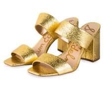 Mules DELANEY - GOLD
