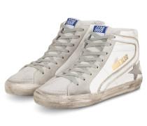 Hightop-Sneaker SLIDE - HELLGRAU/ WEISS