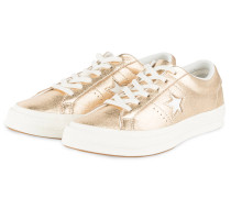 Sneaker ONE STAR OX LOW - GOLD