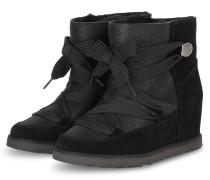 Boots CLASSIC FEMME LACE-UP - SCHWARZ