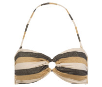 Bandeau-Bikini-Top SUNSET STRIPE