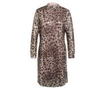 Kleid mit Paillettenbesatz GORDO