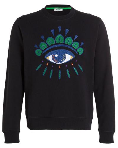 Sweatshirt EYE - schwarz