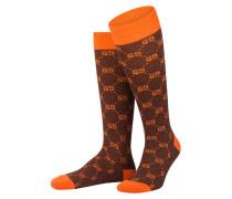 Socken mit Alpaka-Anteil