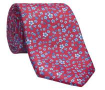 Krawatte LEROY-P in rot/rose