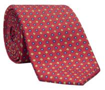 Krawatte LEROY-PF in rot/rose