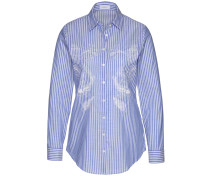 Bluse CARRY-E1 in blau