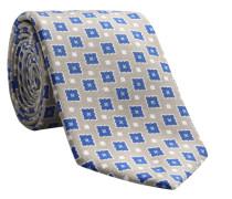 Krawatte LEROY-PF in beige/braun