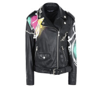 Boutique Moschino Lederjacke/mantel