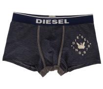 Marineblau und grau gestreifte Boxershorts Dirck mit -Logo