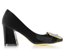 Maria Black Pumps aus Lackleder in schwarz