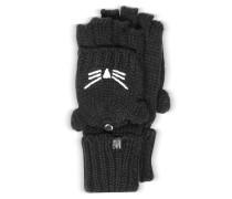 Choupette Handschuhe aus Wollgemisch in schwarz