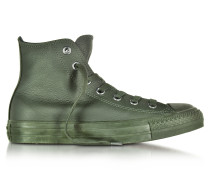 All Star High Green Onyx Sneaker aus Leder