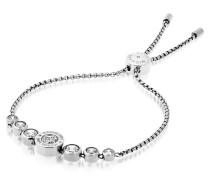Brilliance Armband aus Edelstahl mit Kristallen