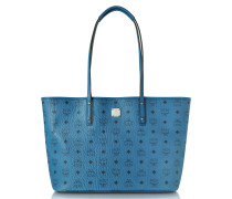Anya Munich Blue Medium Shopper mit Logo