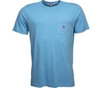York T-Shirt Himmelblau