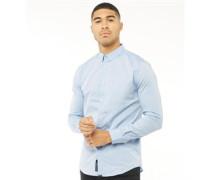 Tailored Hemd mit langem Arm Hell