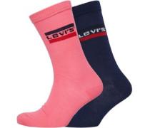2 Pack Cut Sportwear Logo Socken