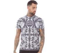 Baroque T-Shirt Verwaschenes Grau