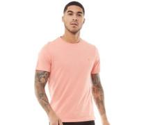 Denny Marl Slim T-Shirt Korallen