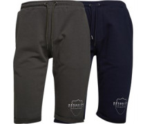 Cecil Two Pack Jersey Shorts Mehrfarbig