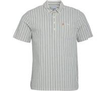 Calderdale Hemd mit kurzem Arm Hellblau