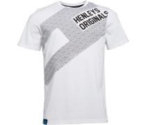 Flag T-Shirt Weiß