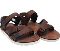 Mens Pierce Point Sandals Brown