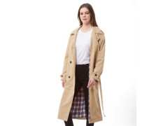 Kate Trench Regenjacke Sandbraun