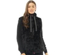 Womens Antartic Faux Fur Gilet Black