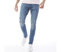 Rex Skinny Jeans Verblasstes Mittel