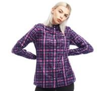 Tartan Bluse mit langem Arm
