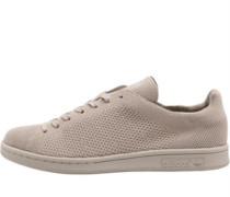 Stan Smith Primeknit Sneakers Hellbraun