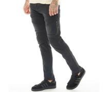 Moriarty Tir 409 Stretch Jeans in Slim Passform Dunkel Denim