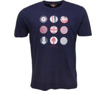 Heritage Britain Graphic T-Shirt Dunkel